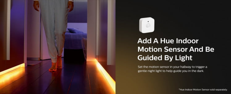 mix with philips hue motion sensor