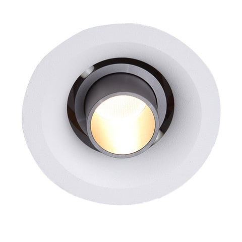 museum lighting zoomable mini led downlight cut size 70mm 3inch 9w adjustable beam angle downlight 3