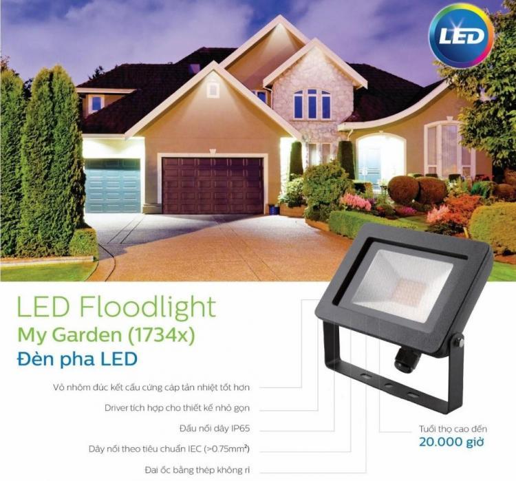 Đèn led pha Flood light MyGarden 17341