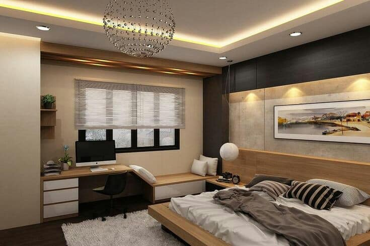 đèn led phòng khách trang trí