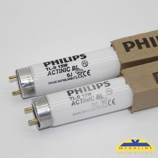 philips tl d 18w 15w actinic bl 1