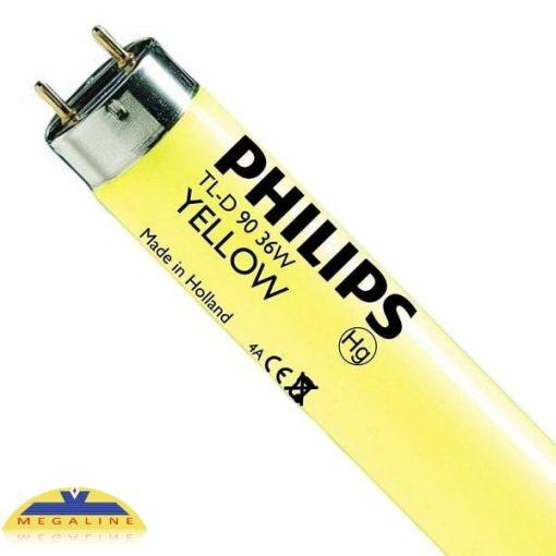 philips tl d 36w yellow 120cm master