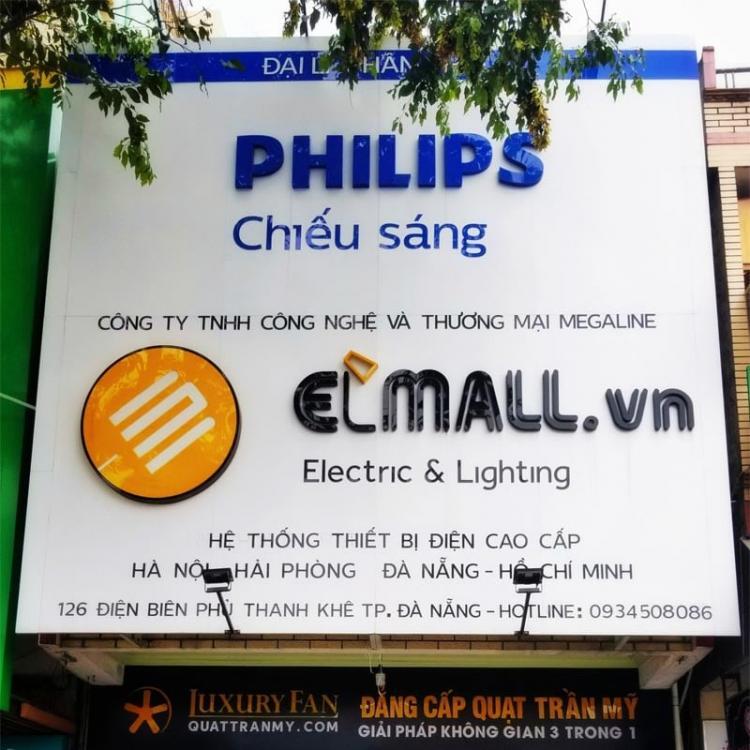showroom đèn led philips đà nẵng