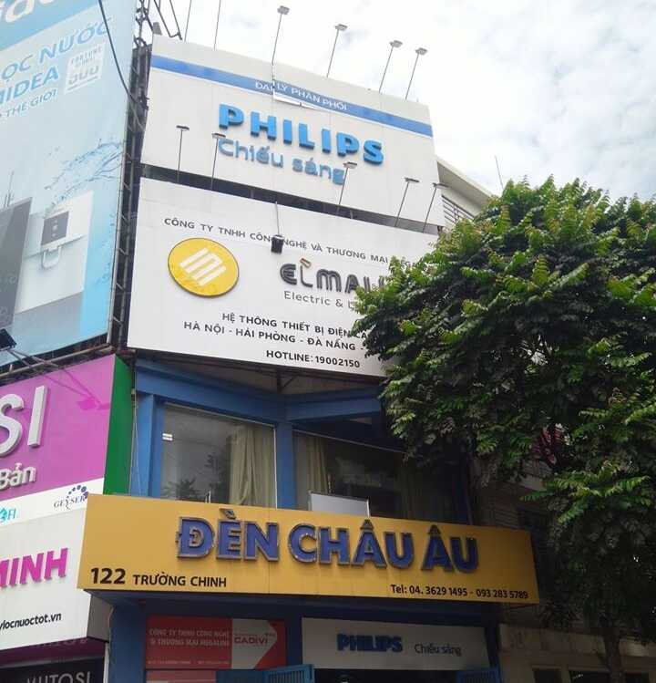 showroom den led philips chinh hang 6