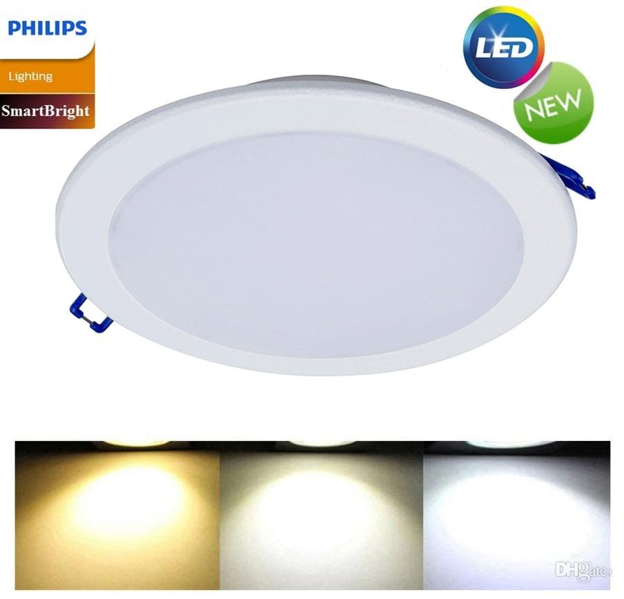 Đèn Marcasite của Philips được thiết kế đẹp mắt với hình dạng vuông hoặc tròn