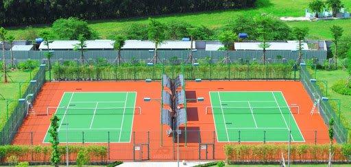 tiêu chuẩn thiết kế chiếu sáng sân tennis