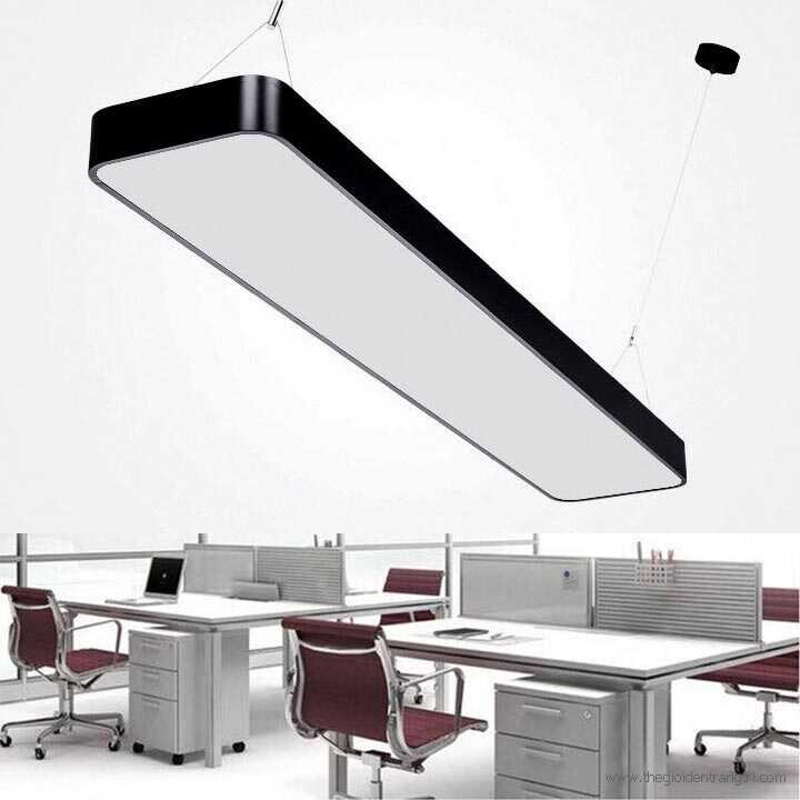ứng dụng của đèn thả trần văn phòng led