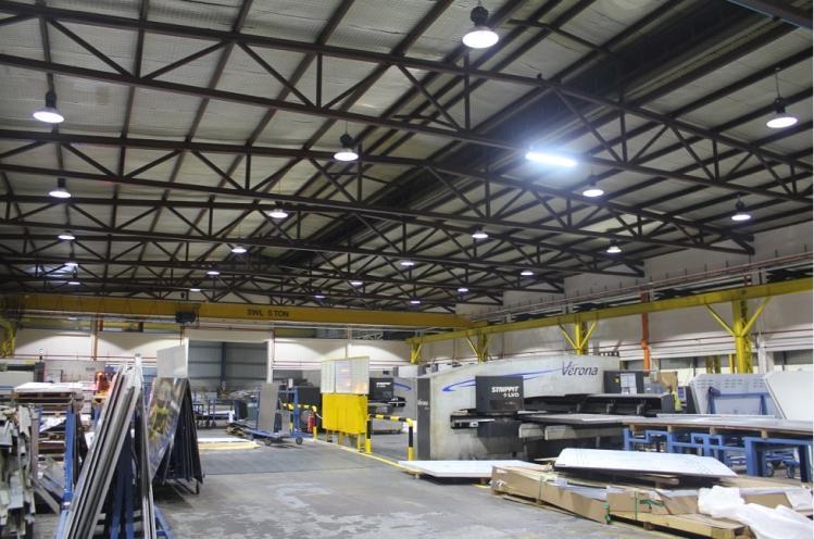 Ứng dụng của đèn cao áp Philips trong các khu công nghiệp