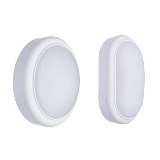 Den led op tran tuong gan noi Waterproof Bulkhead Round Oval Sensor Wl008c Outdoor LED Wall Lamp