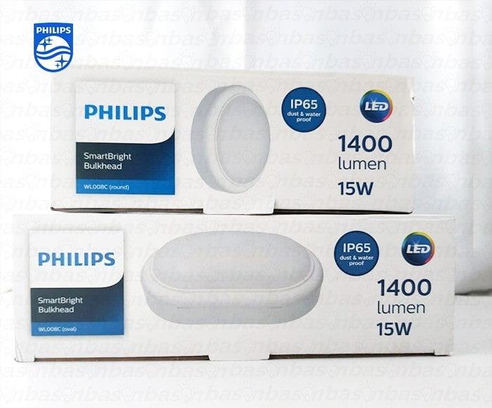 den led op tran tuong noi WL008C Philips