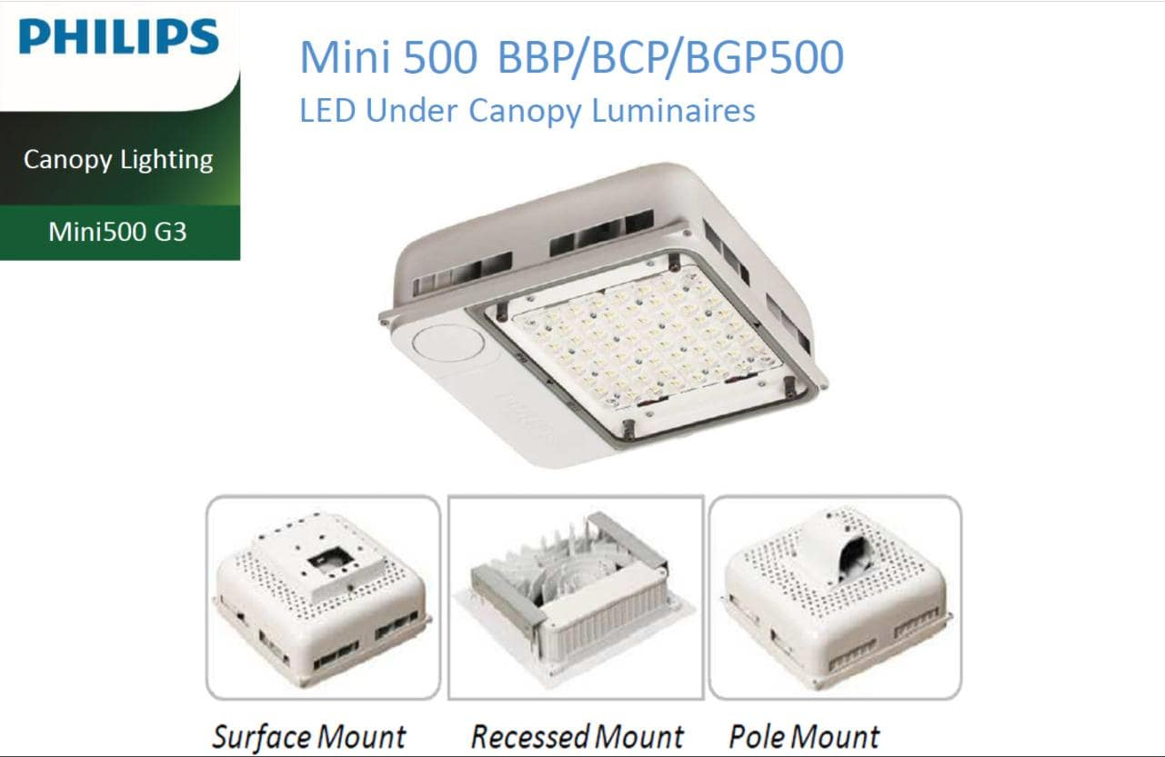 den led pha BBP500 BVP500 Philips